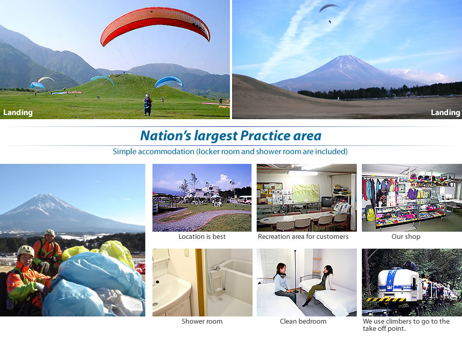Nation's largest Practice area Simple accommodation (locker room shower room rooms include)